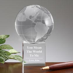 Newst Design OEM Clear K9 Crystal Globe