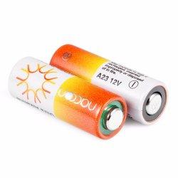12V Bateria alcalina A23 para controlo remoto alarmes de automóveis
