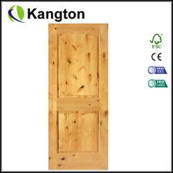 실내 MDF 나무로 되는 문 소나무 (KD02D) (단단한 나무 문)