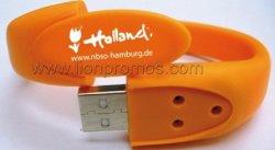 De Schijf van de Flits van de Armband USB van de Manchet van het silicone