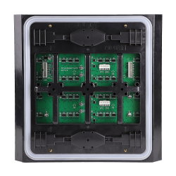 Alto brilho de alta qualidade 45 grau de volta a Shell programável DIP 32X32 P10 Módulo de LED RGB