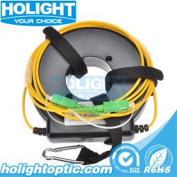 El lanzamiento de fibra óptica de lanzamiento de OTDR Caja de cable tipo de anillo
