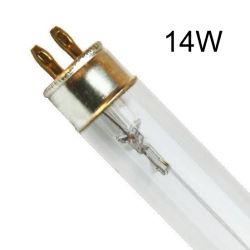 14W T5 Wasserbehandlung-Quarz-Gefäß-keimtötende Lampen-UVC Birne