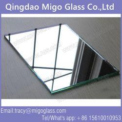 Frameless Wand-dekoratives Silber-/überzogenes Spiegel-Aluminiumglas für Möbel-Raum