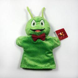 Caricature animal en peluche de marionnettes à main