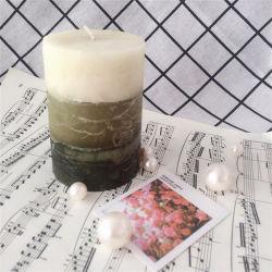 香りの香料入りのLackerの柱の蝋燭のTealightガラスの瓶