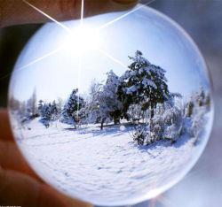 100mm grande sphère de verre clair de la décoration de boule de cristal