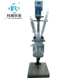 heizungs-Reaktor-Systems-Laborreaktions-Gerät der Biotechnologie-3L Glasmit PTFE Dichtung