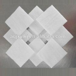 Tamponi di pulizia facciali di forma quadrata Remover facciale con lucidatura a chiodo cosmetica Tampone in cotone per la cura personale