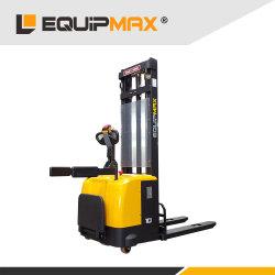 Equipmax 1,0-2,5 tonne Empileur électrique entièrement automatique avec USA Curtis et de l'Italie contrôleur Zapi