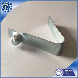 На заводе производство алюминия в форме пружинный зажим с помощью кнопки для телескопической тяги