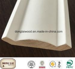 白い発動を促された木の高品質の競争価格の木製の鋳造物のためのOEMの防水木製の材木