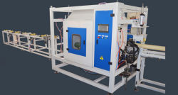 ماكينة قطع الأنابيب البلاستيكية البلاستيكية البلاستيكية / أنبوب ثقب PVC (الدائرة الظاهرية الدائمة) / أنبوب أنابيب أنابيب الحاوية للحاوية