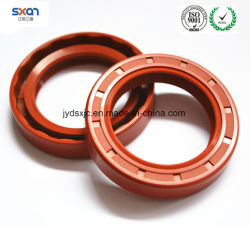 Силиконовый резиновый уплотнитель, силиконовым маслом уплотнения 17,5*37*8