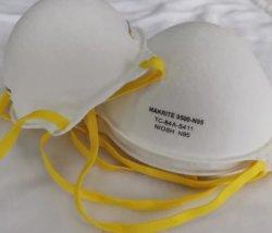 Makrite 얼굴 마스크 500-N95 NIOSH N95 Ciotola, Maschera Protettivamaschera Antipolvere