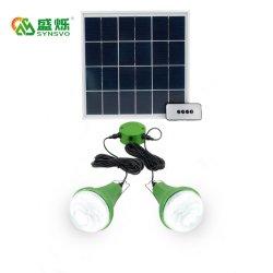 ホーム太陽エネルギーはリモート・コントロール3W太陽LEDランプの屋外の屋内のキットをつける