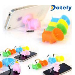 Socle de téléphone cellulaire Universal Piggy ventouse Smart Support pour téléphone portable titulaire