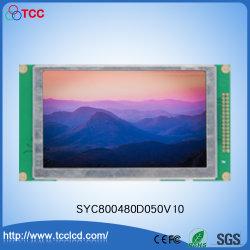 """5,0"""" цветной TFT 800x480 точек ЖК-дисплей с сенсорным экраном LCM IC RA8875"""