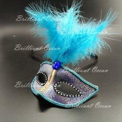 Feather Mascarada Traje Máscaras Máscara de terceiros Senhoras Mask (Máscara Homens