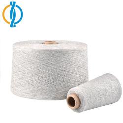 OE recyclés/ régénéré Coton mélangé de fils de polyester pour le tricotage de chaussettes