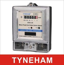 34 dds-2r solo la segunda fase el cable/ Alambre tres Phse único medidor electrónico