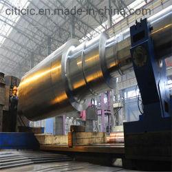 Maßgeschneiderte Stahl geschmiedete Antriebswelle für Drehrohrofen / Trockner / Trockner / Kühler