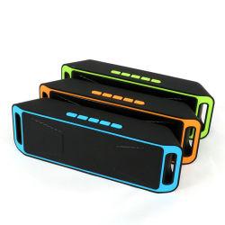 Soundbar 휴대용 이동할 수 있는 무선 옥외 스피커 Sc 208 붙박이 Mic 이중 확성기 저음 소리