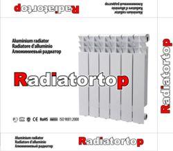 Radiator van het Aluminium van de Radiators van het Aluminium van de centrale verwarming de Matrijs Gegoten met de Buis van het Staal