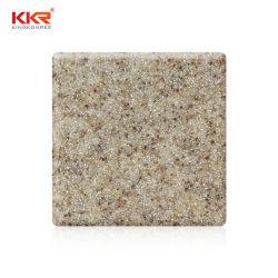 Reine geänderte feste acrylsaueroberfläche des Corian Sandstein-100% (SS20010916)