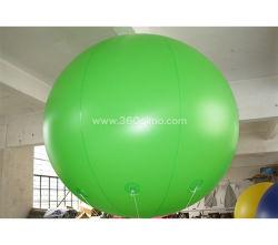 Ihb299 l'impression couleur vert fait en usine MOQ 1PC haut de la qualité commerciale personnalisée grand ballon à air gonflable en PVC pour la vente