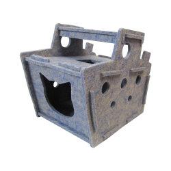 Kann Piraten-Lieferungs-Haustier-Katze-Haus-Katze-Sänfte-Katze-Spielzeug rütteln