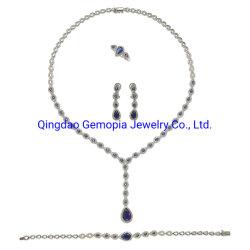 925 [سترلينغ سلفر] كم شكل عروس يشبع مجموعة [هي ند] صفير حجارة نمو فضة مجوهرات