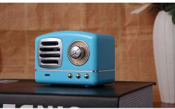 Hm11 Vintage Retro Mini changer de caisson de basses sans fil haut-parleur Bluetooth Sports Haut-parleurs avec la carte de TF Radio pour iPhone Samsung
