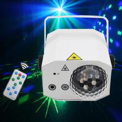 Simva Disco лазера 2+1 RGB шарик лампа звук включается светодиодный проектор для Хэллоуин украшения DJ-участник этап подарок День Рождения СВЕТОДИОДНЫЙ ИНДИКАТОР ДАЛЬНЕГО СВЕТА