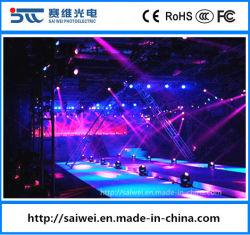 Cer RoHS P3.91 Mietinnen-LED-Bildschirm-Zeichen für Stadium