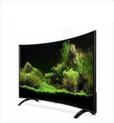 55 Curved TV Digital 4K, grande ecrã LCD HD smart TV TV LED controlo remoto Curved 1080p ou 2160as p