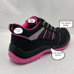 Scarpe di sicurezza per il lavoro con la donna a iniezione in PU di buona qualità, calzature di sicurezza protettive