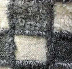 Venta bajo costo de tejido de lana tejido Jacquard puede hacerse en el escudo de seguridad para el 100%