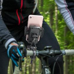 Suporte telefônico de bicicletas para qualquer telefone inteligente: iPhone X 8 7 6 5 Plus Samsung Galaxy S9, S8, S7, S7, S6, S5, S4, Nexus, Nokia, LG. Motociclo
