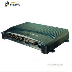 Impinj R2000チップ長距離取付けられたUHF RFIDのカード読取り装置4ポートのアンテナ読取装置