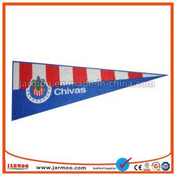 Le Club de Football de gros de la pendaison fanion de Triangle d'un drapeau