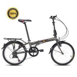 Bicicleta dobrável de 20 polegadas em fibra de carbono T700 Um travão de disco