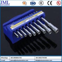 Professional Multi Size buisvormig gebogen dubbel uiteinde L type Hex Dopsleutel