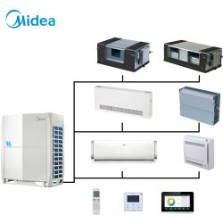 MIDEA 10HP DC 인버터 호텔 상용 에어컨 VRF 에어 에어컨
