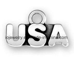 O Encanto da letra do alfabeto personalizado de moda o charme dos EUA