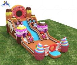 Lilytoys schönes aufblasbares Süßigkeit-Haus-Schlag-Schloss für Kinder