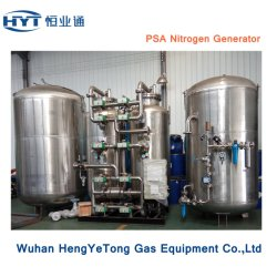 Industrial Skid-Mounted fiable de alto rendimiento de separación de aire generador de gas nitrógeno.
