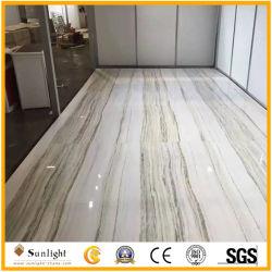 Роскошные полупрозрачные природные строительные материалы камень Imperial белый мрамор плитка Оникс