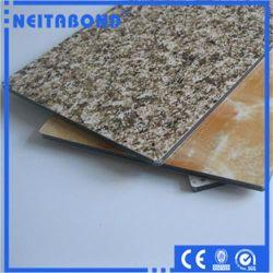 Granit-und Bauholz-Beschaffenheit Acm zusammengesetztes Aluminiummaterial