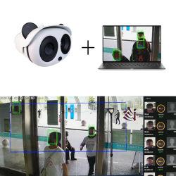 No-Contact transmisión de imágenes en tiempo real de imagen térmica Cámara Imágenes de detección rápida del sistema de detección para el aeropuerto de la Iglesia de la escuela SK-620